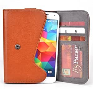 5 Inch Phone Wallet Case with Belt Loop and Credit Card Slots fits Samsung Galaxy S III