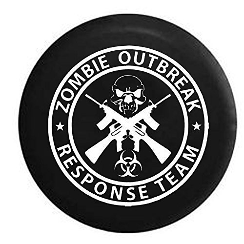 jeep zombie tire cover - 1