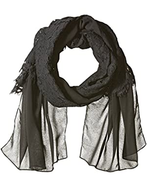 Women's All Over Lace Scarf