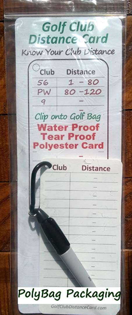 photo about Printable Golf Club Distance Chart named : Golfing Club Length Card (1) : Sporting activities Exterior