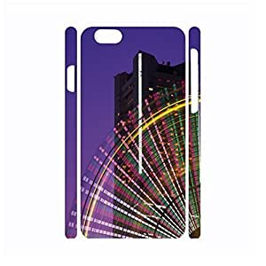 DIY Ferris Wheel Photograph Hard Plastic Protective Case for Iphone 6