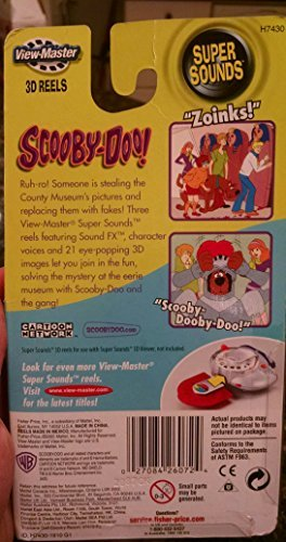 Super Sounds Scooby Doo Reels by Fisher-Price