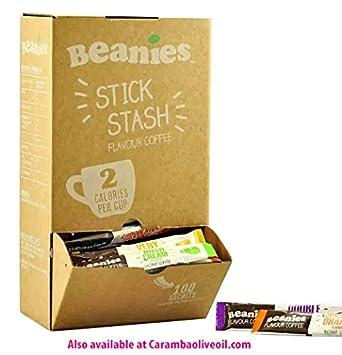 c9f01f149b7 Beanies Flavoured coffee sticks - 100 sticks  Amazon.co.uk  Grocery