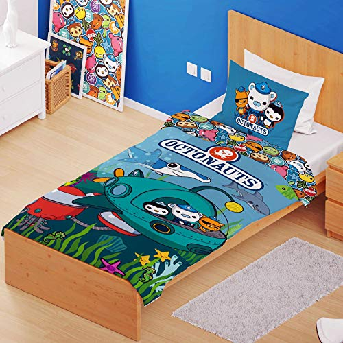 Octonauts Mission Single Duvet Cover and Pillowcase Set -