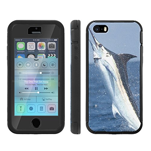 Mobiflare, Total Ballistic Jacket Phone Case, for [iPhone 5/5S] - Marlin - Cheetah Iphone Charger 5s