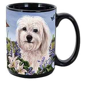 Imprints Plus Dog Breeds (E-P) Havanese White 15-oz Coffee Mug Bundle with Non-Negotiable K-Nine Cash (havanese white 095) 7
