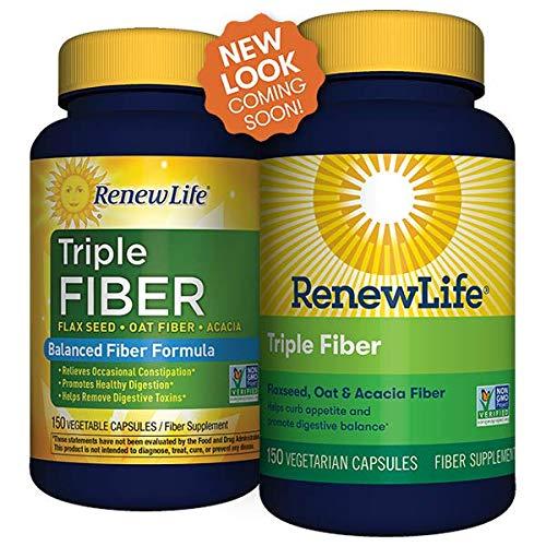 Renew Life Triple Fiber Renew Life 150 Caps - Set of -