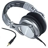 Shure SRH940 Professional Reference Headphones (Silver)