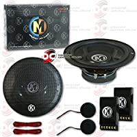 Brand New Memphis SRX 6.5-inch 2-way Car audio component speakers (Pair) 6-1/2