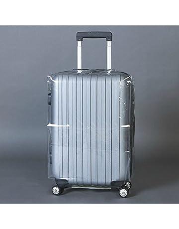 Beautyrain cubierta del equipaje Transparente Caso impermeable anti polvo maleta del recorrido Equipaje protector durable Cubra