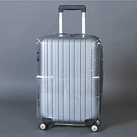 Forfar Luggage Cover Transparent Waterproof Anti-Dust Case Suitcase Travel Luggage Durable Protective Cover 20-28_Inch