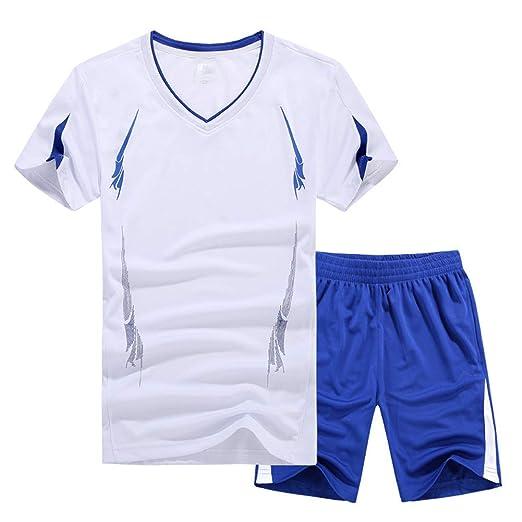 WYX Juegos De Verano para Hombre Camisetas + Pantalones Cortos ...