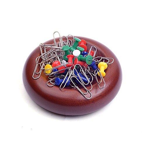 Artinova Wooden Magnetic Paper Clip Holder Push Pin Holder, 3.94× 1.18 inches ARTA-0050 by artinova