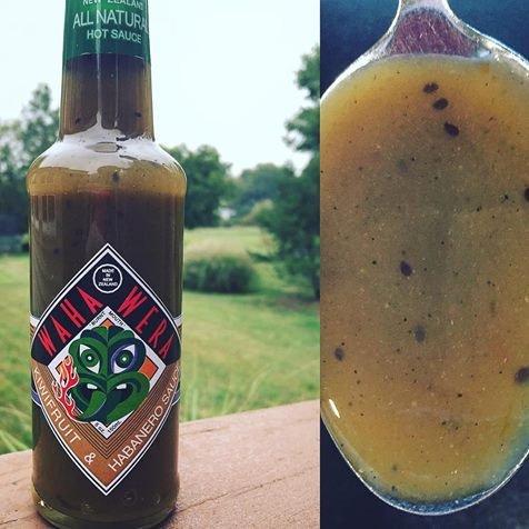 Habanero, Kiwi and Manuka Honey, New Zealand's Favorite Waha Wera Hot Fruit Sauce