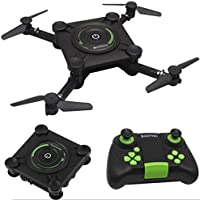 Leewa HC651W 2.4G Wifi FPV Altitude Hold Foldable Mini Selfie RC Drone Quadcopter (Black)