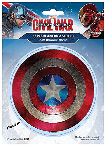 Marvel ST MCACW CAP01 Decal (Captain America: Civil War Captain America Shield)