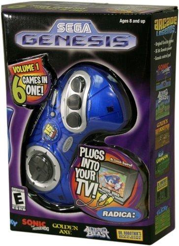 Sega Genesis Radica Plug and Play 6 Games-In-One by Radica (Image #3)