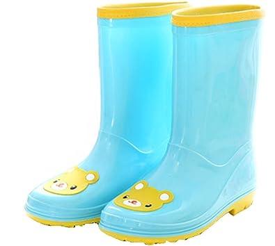 amazon com vecjunia girls breathable slip resistant cartoon rain