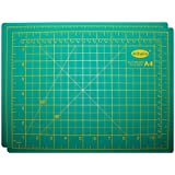 BELLE VOUS 2 Pack Self Healing Cutting Mat - Non Slip Rotary Cutting Mat 22 x 30cm - Craft Cutting Mat Metric - Sewing Cutting Mat - Silicone A4 Cutting Mat for Quilting, Trimming and More