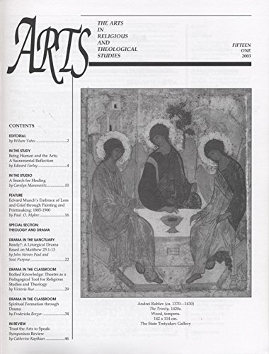 ARTS: The Arts in Religious and Theological Studies