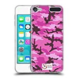 Official Support British Soldiers Pink Camo Soft Gel Case for Apple iPod Touch 5G 5th Gen