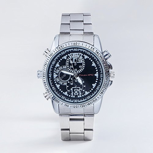 1080P Fashion Camera Watch Built-in 8G TF Card Support Photo Taking and Video Recording