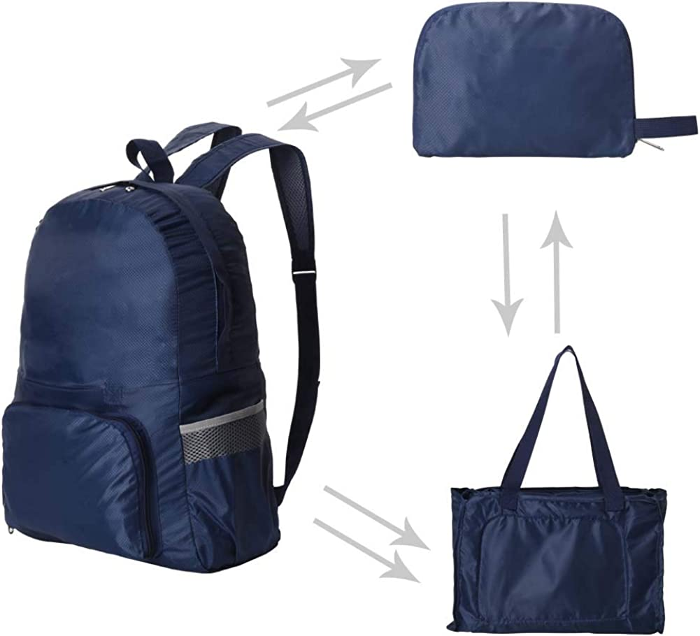 Packable Lightweight Backpack Durable Water Resistant Foldable Daypack