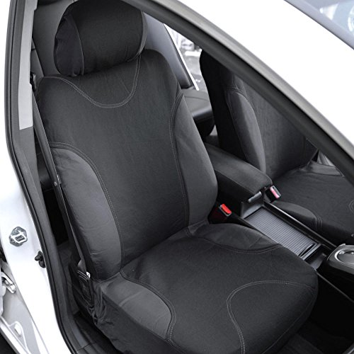 InstaSeat Car Seat Covers Floor Mats Black Charcoal Trim NeoCloth Carpet
