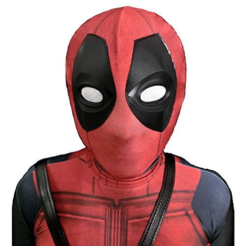 AOVEI Kids Halloween Mask Movie Cosplay Costume Onesie