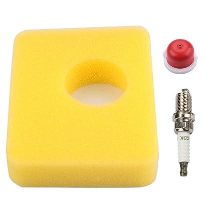 Amazon.com: 799579 - Filtro de aire con imprimación de bujía ...