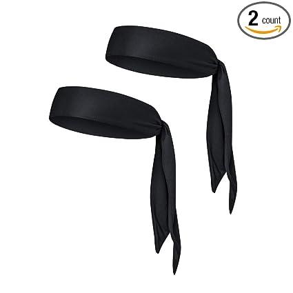 Amazon.com   EINSKEY Sweatband Headbands 2-Packs Quick-Drying Head ... fc72c22b623b
