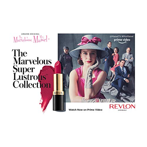 From Revlon, The Marvelous Super Lustrous Collection in Take the Stage Reds, Limited Edition Lipstick Set, Pack of 3