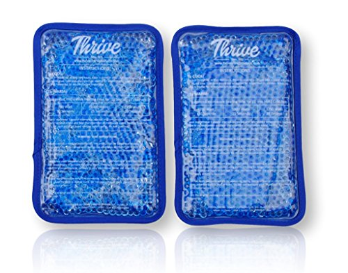 Gel Beads Hot & Cold Compress Pack – 2-Pack – Fabric Bac