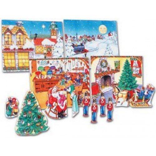 Christmas Joy Felt Soft Quiet Activity Book- Precut & Assembled