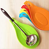 Windspeed Kitchen Silicone Spoon Rest/Heat Resistant Cooking Spoon Holder