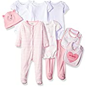 The Children's Place Baby Layette Set, Pink 77961, 0-3 Months