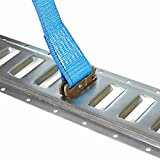 Five 8-ft E Track Tie-Down Rails | Hot-Dipped