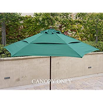 Amazon Com 9ft Umbrella Replacement Canopy 6 Ribs In