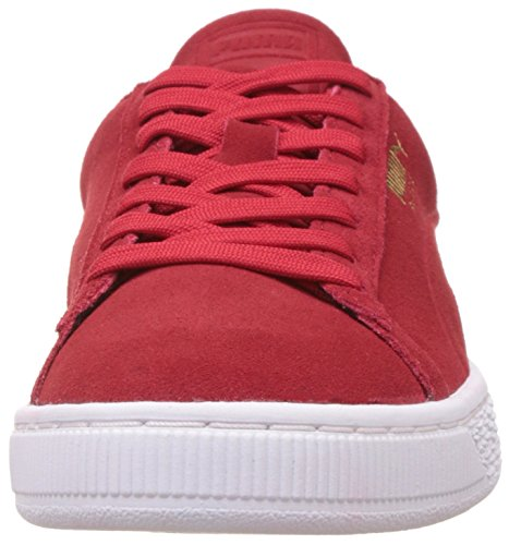 Cherry Barbados Suede Rosso Classic Debossed Puma Sneaker Adulto Q3 Unisex 6fFgR