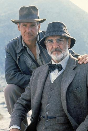 11X17  Indiana Jones And The Last Crusade   Sean Connery And Harrison Ford Movie Poster