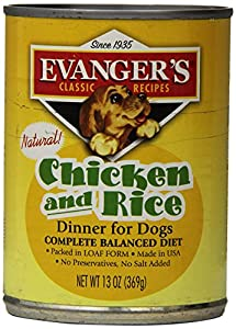 Classic Dog Can Chic Rice 12x13