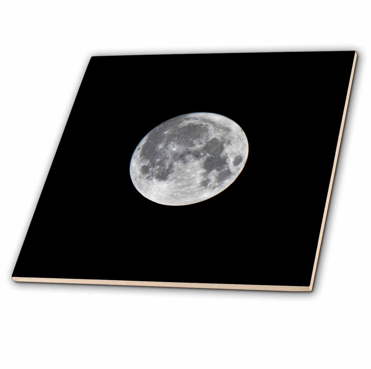 3dRose Danita Delimont - Moons - USA, Minnesota, Mendota Heights, Super Moon - 8 Inch Glass Tile (ct_279124_7)