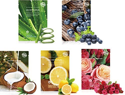 secret-nature-anti-aging-facial-mask-sheet-with-jeju-complex-all-5-sheets