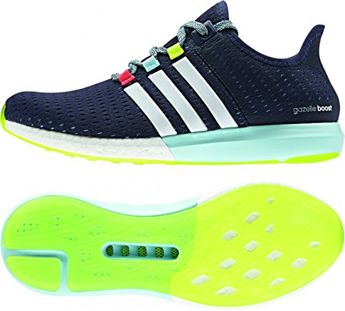 adidas CC Gazelle Boost Womens Running Trainers Sneakers (US 11, Blue White B24281)