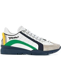 Dsquared2 Sneakers 251 Uomo Bianco Rosso 44 EU: Amazon.it