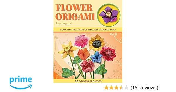 Flower origami origami books joost langeveld 9781607102809 flower origami origami books joost langeveld 9781607102809 amazon books mightylinksfo
