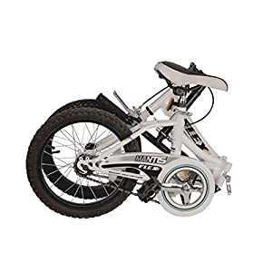 Mantis Flex Folding Bike, 16 inch Wheels, 11 inch Frame, Unisex, White