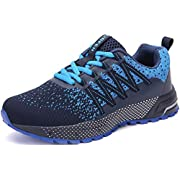 SOLLOMENSI Running Shoes Mens Womens Trainers Lightweight Outdoor Sports Shoes Athletic Gym Fitness Walking Run Jogging…