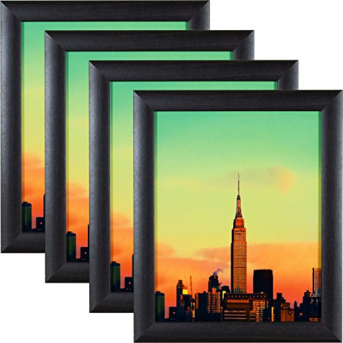 - Craig Frames 23247778 8.5 by 11-Inch Picture Frame 4-Piece Set, Smooth Finish, 1-Inch Wide, Brazilian Walnut