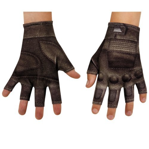 Captain America Winter Soldier Gloves - Disguise Marvel Captain America The Winter